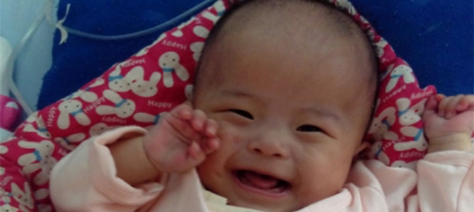Meng Yao and her twin sister were preterm babies, weighing only 4.5 pounds, and were given a slim chance of survival by physicians.